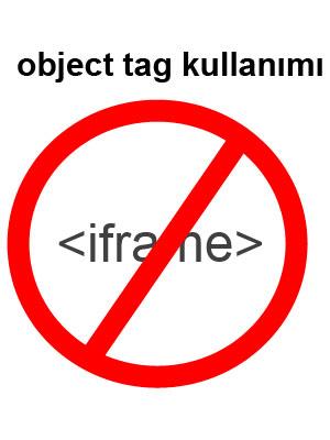 no iframe